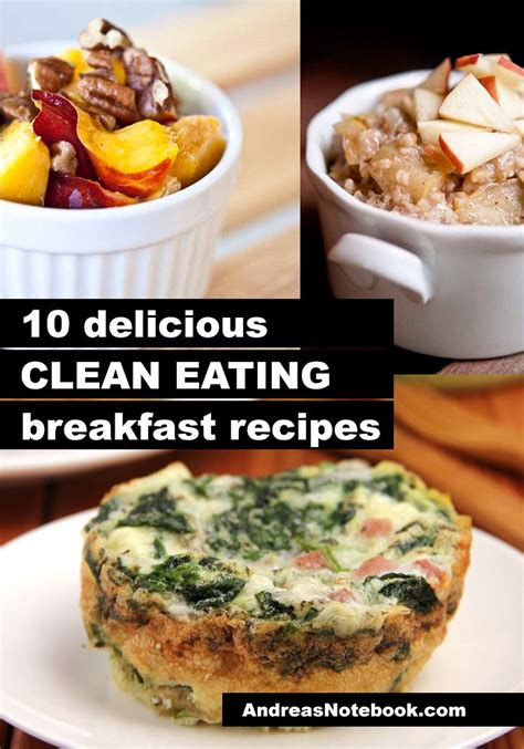 10 Clean Eating Breakfast Recipes  Clean Living