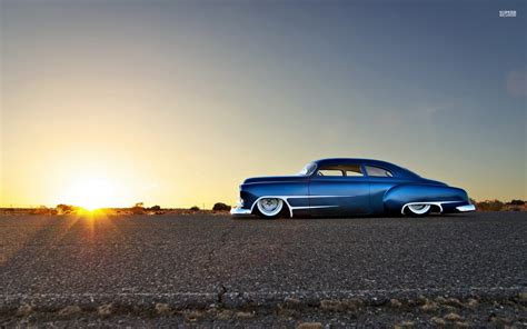 Car, Blue Cars, Hot Rod, Chevy, Chevrolet, Desert