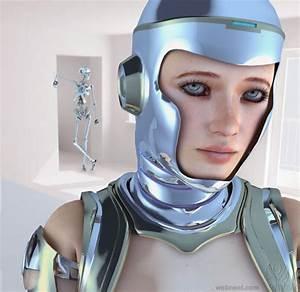 Robot, Sci, Fi, Cg, Character, By, Eliane, 9