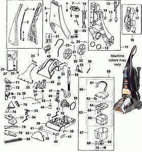Bissell Carpet Cleaner Parts Diagram