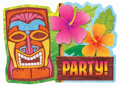 hawaiian party background tiki luau invitations tiki