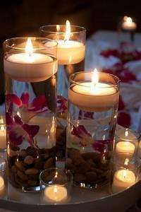Wedding, Centerpieces, Candles