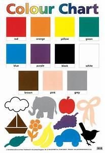 Colour Chart Colour Art Ks1 Ks2 Eyfs Teaching