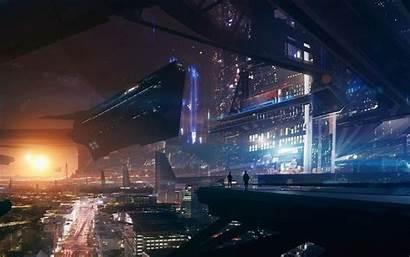 Futuristic Future Space Spaceship Effect Mass Fantasy