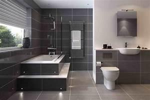 Badezimmer Fliesen Grau Weiß : so richten sie ihr badezimmer in grau ein 40 ~ Watch28wear.com Haus und Dekorationen