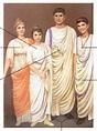 TÚNICAS ROMANAS | Outros Tempos | Pinterest | Roma antiga ...