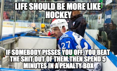 Funny Hockey Memes - funny blonde memes
