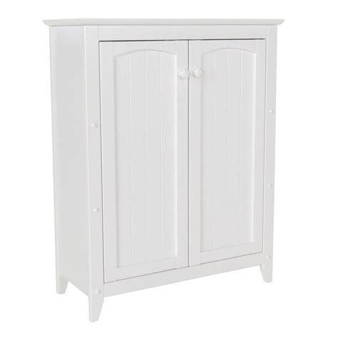home depot bathroom floor cabinets home decorators collection cottage 17 in w x 35 in h
