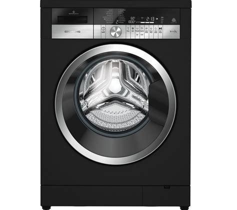 Buy GRUNDIG GWN48430CB Washing Machine   Black   Free