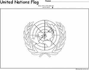 United Nations Flag Printout: EnchantedLearning.com
