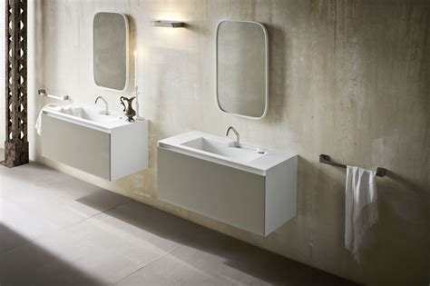 corian vanity ergo nomic single vanity unit by rexa design design giulio