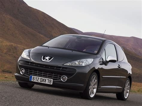 Peugeot 207 Specs by Peugeot 207 Rc Specs Photos 2007 2008 2009