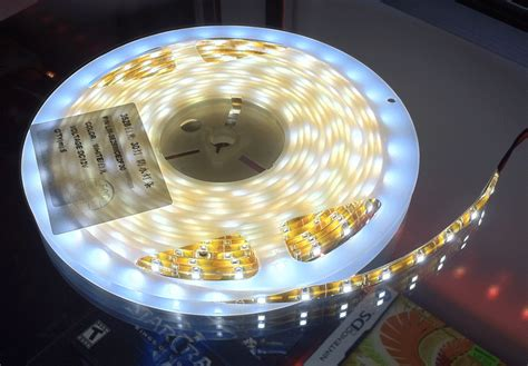 16 ft led light strip 3528 smd nova bright super bright warm white led light