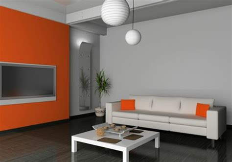 Wohnzimmer Orange Grau by Orange Wohnzimmer Design 40 Bilder