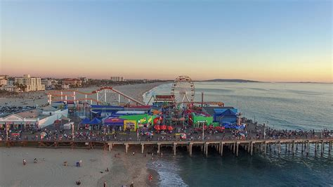 Tag your photos with #seesantamonica for a chance to be featured! File:Santa Monica Pier (22944807230).jpg - Wikimedia Commons