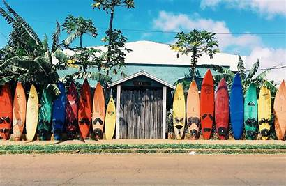 Hawaii Surfboards Vacation Kilroy Aloha Maui Travel