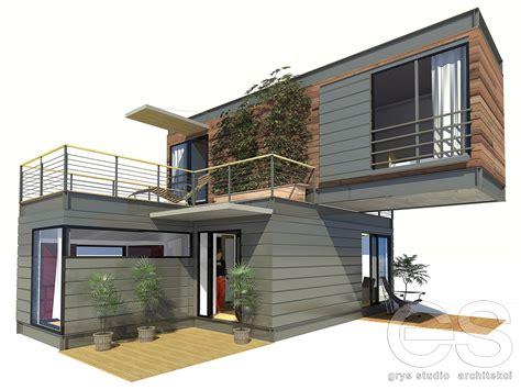 B Z Design Home : Dom Modułowy