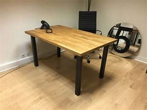 Pied De Table Haute : 92 best images about pieds de table en acier brut on pinterest ~ Dailycaller-alerts.com Idées de Décoration