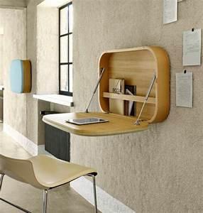 Meuble Avec Table Rabattable : comment bien choisir un meuble gain de place en 50 photos ~ Teatrodelosmanantiales.com Idées de Décoration