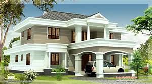 2540 sq feet beautiful house elevation Indian Home Decor