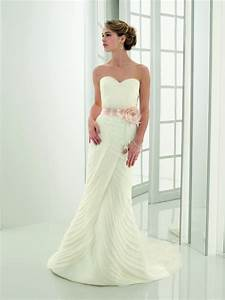 simple organza wedding dresses for simple but very elegant With simple mermaid wedding dresses
