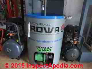 pressure sensitive water pump systems inline tankless
