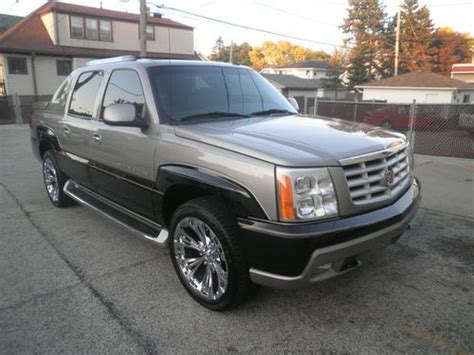 automobile air conditioning repair 2003 cadillac escalade user handbook find used 2003 cadillac escalade ext 78k sharp in milwaukee wisconsin united states