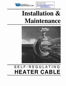 Trace Heating Cables Self Regulating