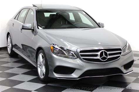 2014 Used Mercedes-benz Certified E350 4matic Amg Sport