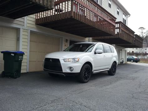 Mitsubishi Outlander Custom by Pics Of Aftermarket Wheels On My 2013 Outlander Gt