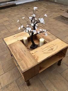Tisch Aus Holzkisten : von ein paar alten weinkisten kann man wirklich wundersch ne m bel erstellen diy ~ Frokenaadalensverden.com Haus und Dekorationen