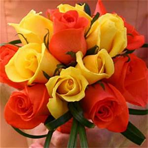 Color tones for all Bridesmaids Rose Bouquets may vary due ...