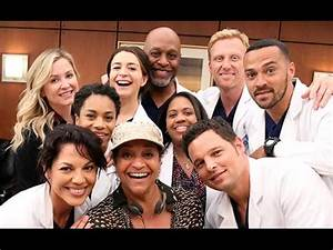 Grey's Anatomy Cast Renews Contracts - YouTube