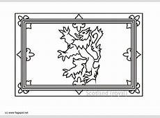 Coloring Page Royal Flag Scotland Img 6152