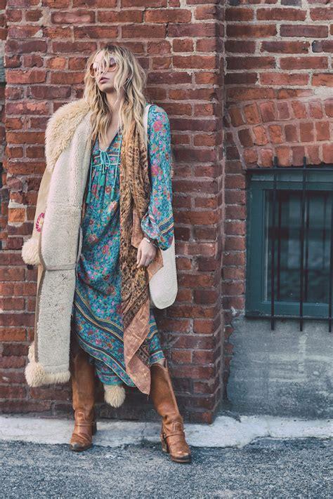 vetement boheme chic 1001 looks parfaits d automne hiver avec une tenue boh 232 me chic mode femme mode