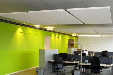 Akustik Im Büro  Absorbersysteme Für Wand Und Decke