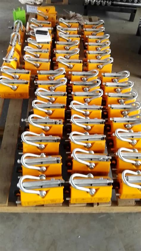 color lifter 3000kg yellow colour permanent magnetic lifter buy