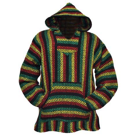hippie sweaters rasta baja hoodie archives hippies com