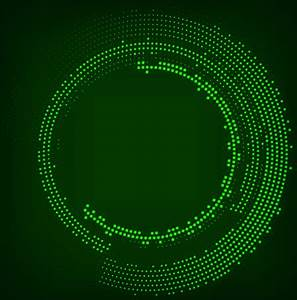 Neon effect abstract background vector Free vector in