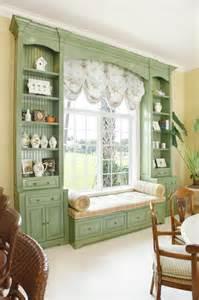Green Window Seat