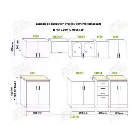 cuisine en kit pas cher impressionnant meuble de cuisine en kit pas cher