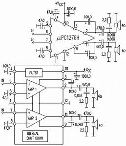 home stereo amps electronic circuit diagram and layout With lm555 electronics schematic diagram three stage 8211 cycling timer circuit part 40