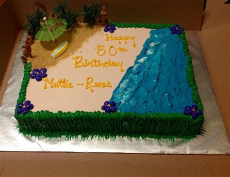 luau themed  sheet cake yelp