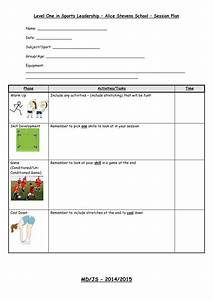 sports leaders level 1 lesson plan for mld pupils by With sports lesson plan template