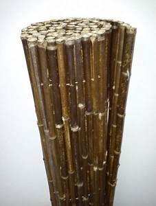Sichtschutz 100 Cm Hoch : bambusrohr black 100 cm hoch x 180 cm lang sichtschutz bambusmatte black bambusmatten ~ Bigdaddyawards.com Haus und Dekorationen