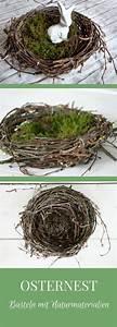 Osterdeko Aus Naturmaterialien : osternest basteln osternest aus birkenreisig remeny ~ A.2002-acura-tl-radio.info Haus und Dekorationen