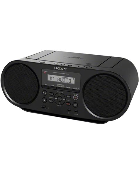 Sony Zs Rs60bt Mp3 Cd Radio Player With Usb Black