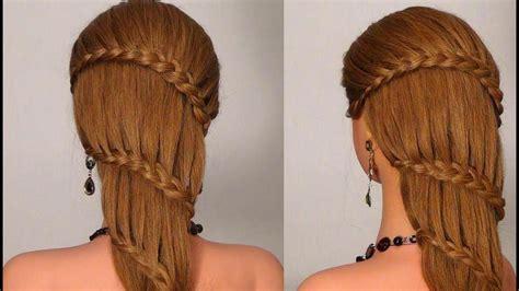 pricheska  pleteniem na kazhdyy den braided hairstyle