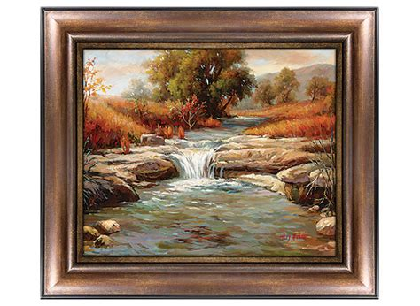 raymour and flanigan wall autumn river canvas wall raymour flanigan 7630