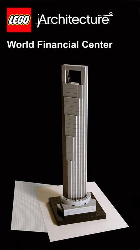 lego version   shanghai world financial center